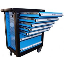 Carro taller 7 cajones con 138 herramientas vicmax for Cajon herramientas taller